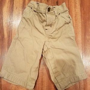 Gap tan khaki pants size 6/12 months